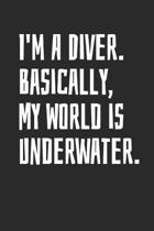 I'm A Diver. Basically, My World is Underwater