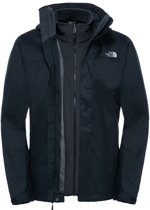 The North Face Evolve II Triclimate Jacket Heren Outdoorjas - TNF Black - Maat L