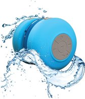 Bluetooth Waterbestendige Douche/Bad Mp3 Speaker/Radio - Blauw