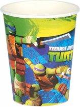 Nickelodeon Feestbekers Ninja Turtles 250 Ml 8 Stuks Groen