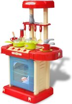 Kinderkeuken speelgoedkeuken keuken met verlichting en geluid