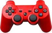 PS3 Wireless Dualshock Controller - Bluetooth Draadloze Controller - Rood
