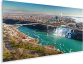 De Niagara watervallen in Noord-Amerika Plexiglas 160x80 cm - Foto print op Glas (Plexiglas wanddecoratie)