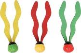 Drie duikballetjes Intex - Duikspeelgoed