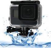 Waterdichte Onderwater Behuizing tot 60 meter voor GoPro HERO 5 / 6 / 7 + bevestiging - Waterproof case
