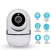 WIFI  Beveiligingscamera   720p   Nachtzicht   Infrarood   Babyfoon
