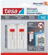 Tesa - 77774 - verstelbare klevende spijker voor b