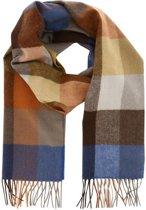 Profuomo sjaal geblokt multi color_ONESIZE, maat One size