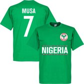Nigeria Musa 7 Team T-Shirt - XL