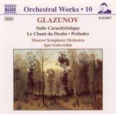 Glazunov: Orchestral Works Vol 10 / Igor Golovchin, et al