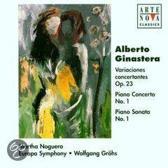Ginastera: Variations For Cham