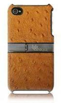 Uunique Hardshell case Apple iPhone 4/4S Croco Brown