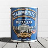 Hammerite Metaallak Hoogglans Grijs 0,25L