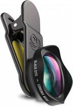 Zwarte Cinema Wide Angle Smartphone Lens