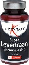 Lucovitaal Levertraan - 120 capsules - Voedingssupplementen