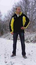 KWD Coachjas Fresco - Zwart/geel/wit - Maat M