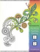 Livro Para Colorir de Pac ficos Padr es Paisley Para Adultos 1 & 2