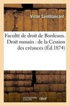 Facult� de Droit de Bordeaux. Droit Romain