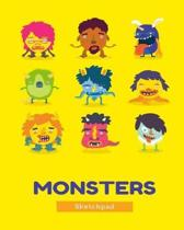 Monsters Sketchpad