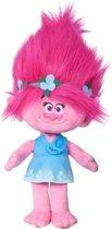 Trolls Poppy met echt haar Pluche knuffel 40 cm