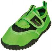 Playshoes waterschoentjes uni neon groen