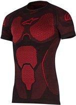 Alpinestars Shirt Ride Tech Summer Short Sleeve Red-M/L