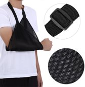Universele Arm Sling Mitella Band - Armsling Schouder Band - Arm Draagband - Heren/Dames/Kind - Zwart