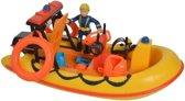 Simba - Speelset Brandweerman Sam met boot 19 Cm Neptune