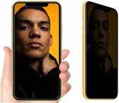 Ntech Apple iPhone Xr Privacy Screenprotector Glass Anti Spy