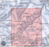 DAV Alpenvereinskarte 35/1 Zillertaler Alpen West 1 : 25 000 Wegmarkierungen