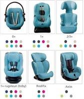 Briljant autostoelhoes turquoise 1+