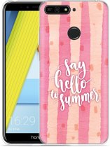 Honor 7A Hoesje Say Hello to Summer