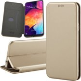 Samsung Galaxy A30s Hoesje - Book Case Flip Wallet - iCall - Goud