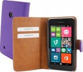 Mobiparts Premium Wallet Case Nokia Lumia 530 Purple