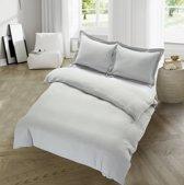 Hotel Bedding - Comfort - Zilver Grijs - Maat: 200 x 200/220
