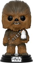 Funko Pop! Bobble: Star Wars: E8 TLJ - Chewbacca w/ Porg