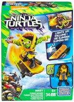 Mega Bloks Teenage Mutant Ninja Turtles Mikey Turbo Board DPF76