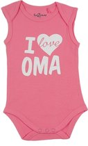 Fun2Wear Romper love oma Pink maat 62