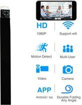 Kleine Draagbare Spy Camera WiFi | Verborgen Pinhole Camera |mini-camera met een hoge resolutie ,Spy Camera knoop Geschikt voor families, bedrijven en particulieren