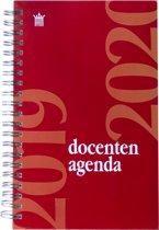 Docenten Agenda 2019-2020 RYAM - ROOD met spiraal - lerarenagenda 2019-2020 (12cm x 19cm)
