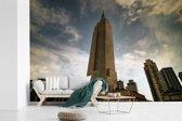 Fotobehang vinyl - Het Empire State Building in de Verenigde Staten breedte 330 cm x hoogte 220 cm - Foto print op behang (in 7 formaten beschikbaar)
