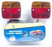 Magneet Verlichting Toolwelle Transportsysteem Verlichtingsset 7,5 meter + magneet