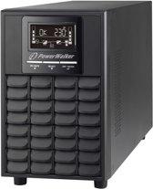 PowerWalker VFI 1000 CG PF1 UPS 1000 VA 4 AC-uitgang(en) Dubbele conversie (online)