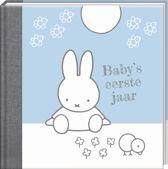 Nijntje Baby's 1e jaar blauw herziene editie