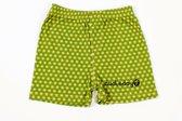 Ducksday pyjama short voor jongens Funky green - 2 jaar