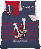 Coca Cola Lines - Dekbedovertrek - Lits Jumeaux - 240 x 220 cm - Multi