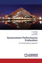 Government Performance Evaluation