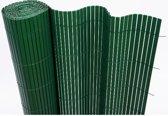 Balkonscherm kunststof groen