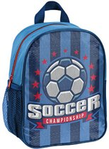 Rugzak - Voetbal - voor Jongens - 28 cm - Blauw