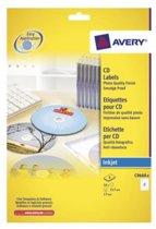 Avery printeretiketten Full Face CD/DVD Label- Photo Quality - C9660